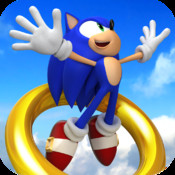 sonic jumps ipad iphone