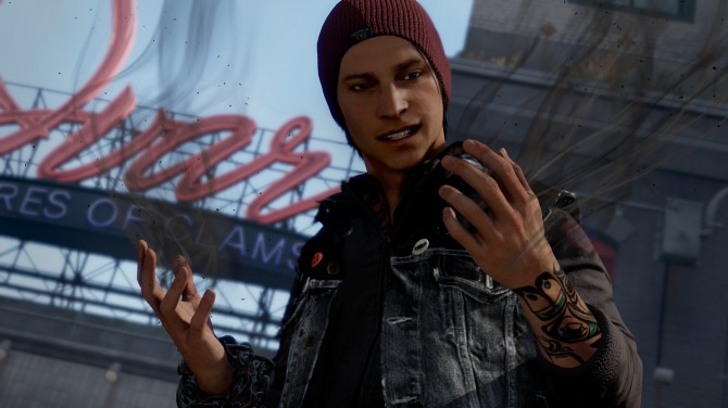"""inFAMOUS: Second Son: Details on Moral Choices and on Delsin: """"You'll Definitely Want to Play the Game Twice"""""""
