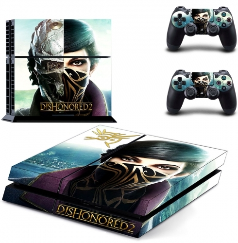 Dishonored 2 PS4 Sticker