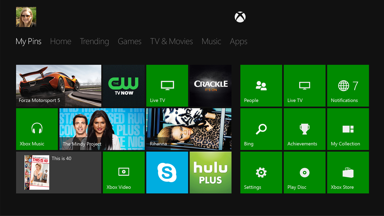 Xbox-One-Dashboard-UI